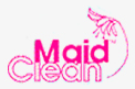Logo, Maid Clean - House Cleaning